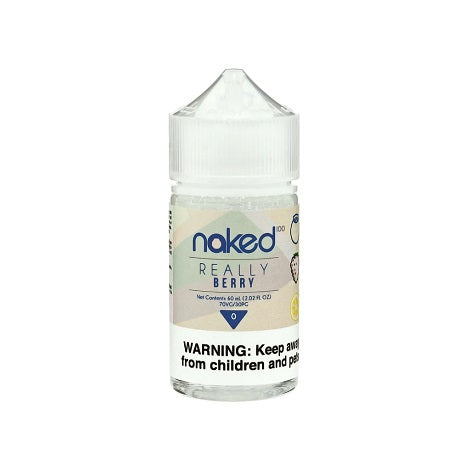 Naked 100 60ml 0mg Real Berry Flavor Eliquid vape juice new flavor ejuice zero nicotine ejuice for beginners