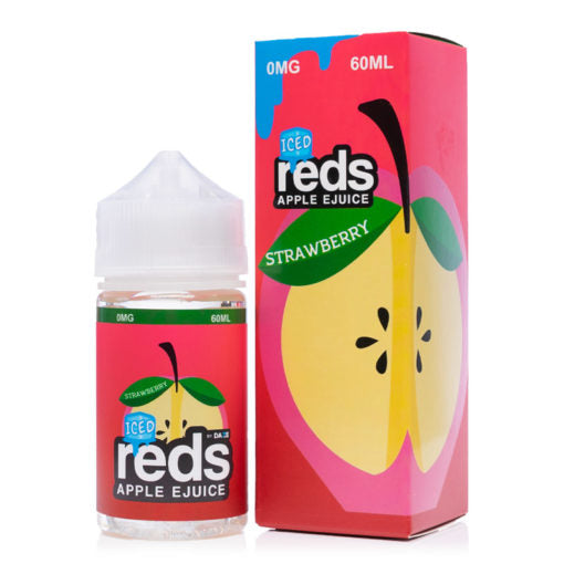 Iced Strawberry Reds Apple Iced Ejuices 60ml Ejuice by Reds New Collection nicotine Vape Liquids near me