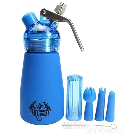 New Whipped cream dispenser by special blue half liter whipped cream dispenser near me online shop