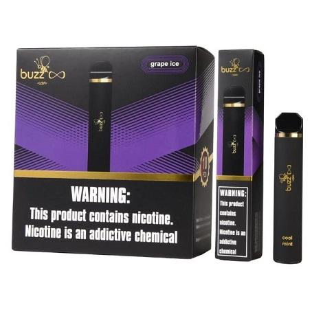 Grape Ice disposable vape flavor by Buzz Infinity Disposable vape devices new online collection near me