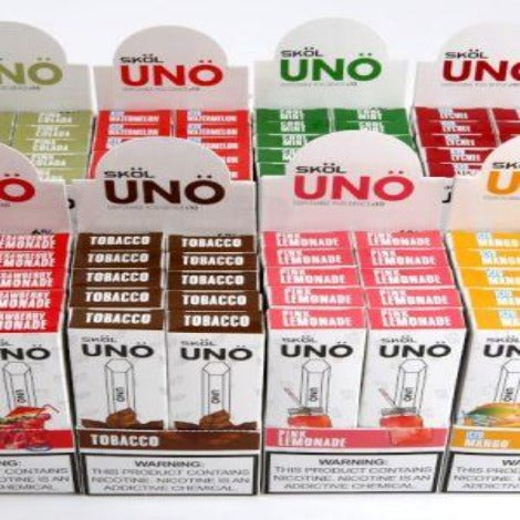Skol Uno Disposable flavor 6% disposable device
