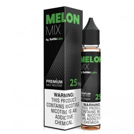 SaltNic Labs Nicotine Salt Eliquid VGOD Melon Mix 25mg salt 30ml Bottle In best online price near me