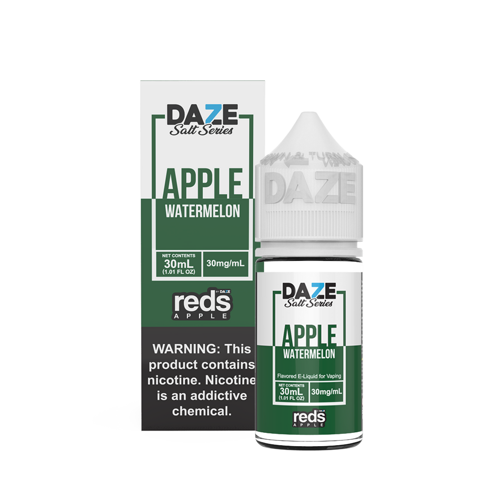 Watermelon iced 50mg 30mg 30ml Apple Reds Salt Nicotine Eliquids best quit smoking ejuice for vaping