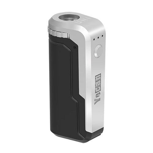 Yocan uni cartridge vaporizer black and silver color