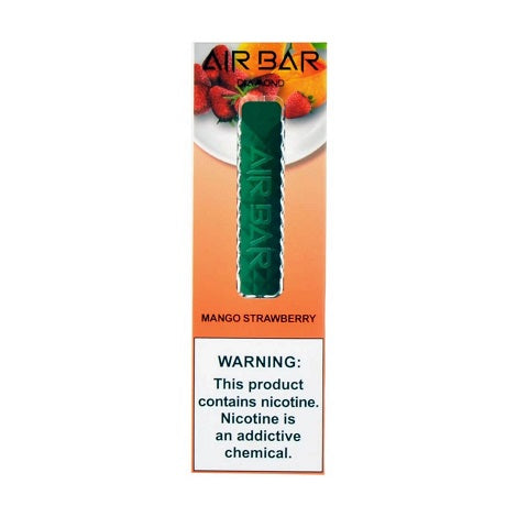 Air Bar Diamond Disposable Vape 1.8ml Device Banana Ice Cool Flavor Perfect throat hit in best prices near me