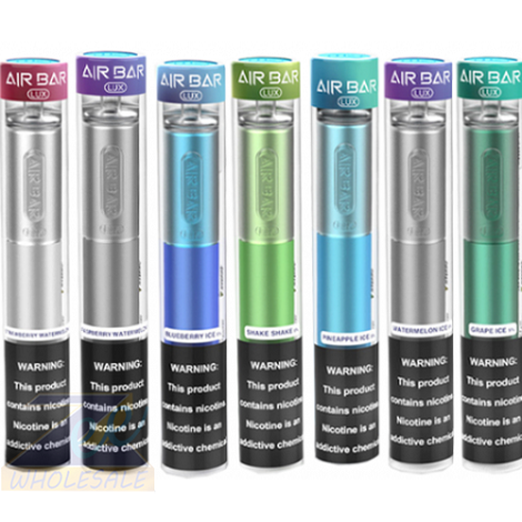 AIrbar Lux Disposable Vape Blueberry Ice flavor one time use 2.7ml 5% nicotine vape device near me
