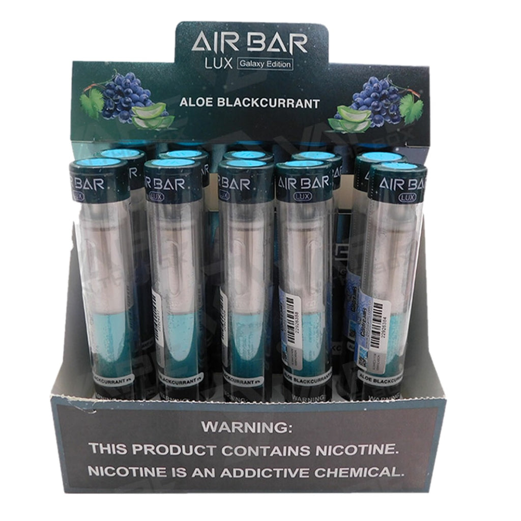 Air Bar Lux Galaxy Edition aloe blackcurrant 2.7ml 5% 1000 puffs available online vape shop near me best price