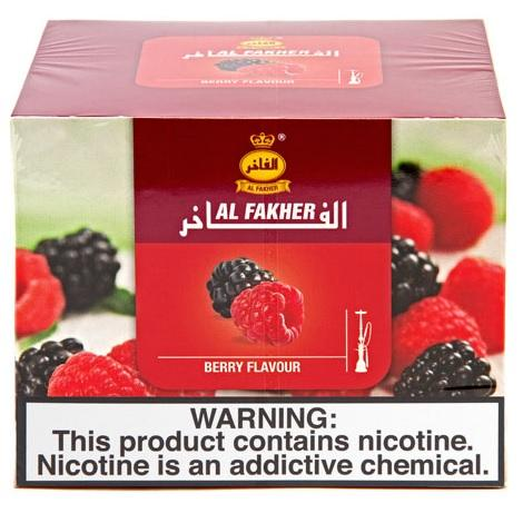 Berry Flavor Al Fakher Tobacco flavor for Sheehsha Hookah near me online vape shop 250mg packet berry flavor