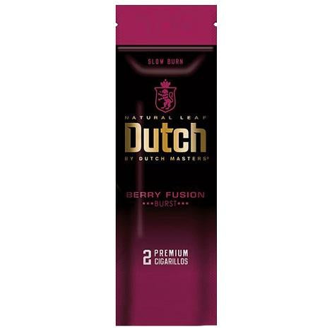 Dustch Berry Fusion Natural Leaf Flavored Cigarillos near me online tobacco shop best online prices best cigar reviews
