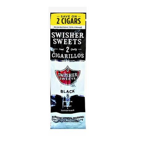 Swisher Sweets Black Flavored Cigars with fresh aroma near me online tobacco shop best collection cigars