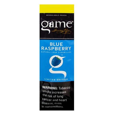 Game Bue Raspberry Cigars 2 per pack new flavor of raspberry rich tobacco flavor leaf cigars near me