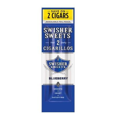Swisher Sweets Blueberry Flavored Mini CIgars Cigarillos near me in best prices Swisher reviews online