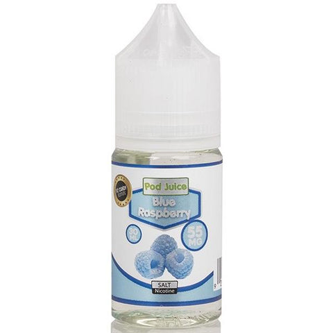 pod juice disposable flavor blueberry nic salt ejuice