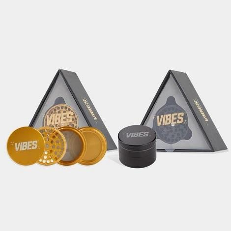 Vibes 4 piece Grinder X Aerospaced New High Quality Grinders for easy tobacco crushing near me online tobacco shop