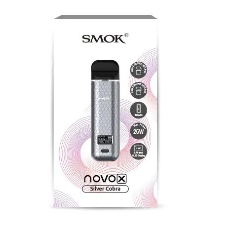 Box Contents of Smok Novo X Pod Device Prices available online near me free delivery vaping kits for me