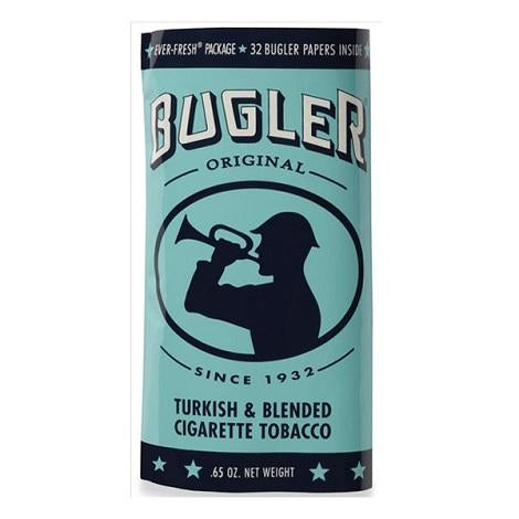 Bugler Original Turkish and Blended Cigarette Tobacco Pouch 0.65 oz Bag Pack in best prices available online  near me