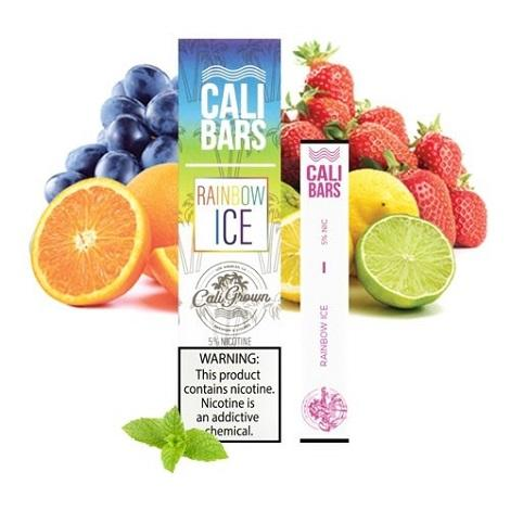 Ranibow ice disposable vape flavor by cali disposables vape bars near me online vape shop