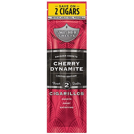Swisher Sweets Flavored Cigarillos Box 15 Pouches
