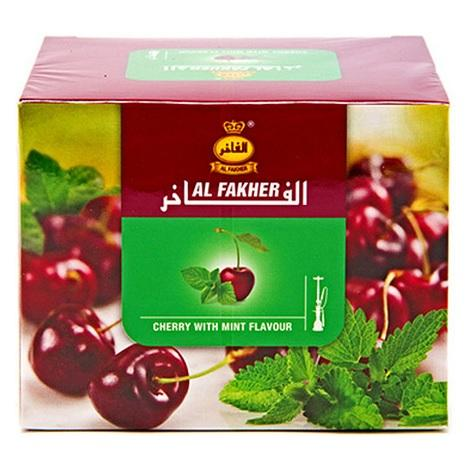 Al Fakher Cherry with mint Shisha tobacco flavor near me 250g packet flavored tobacco cherry mint refresh