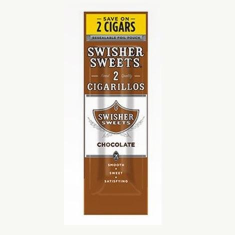 Chocolate flavored cigarillos by Swisher Sweets new collection of mini cigars available online in best prices