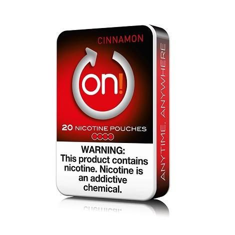 ON Nicotine Pouches 4mg 20 count Cinnamon Flavor Nicotine Swabs Near me Online Shop reviews