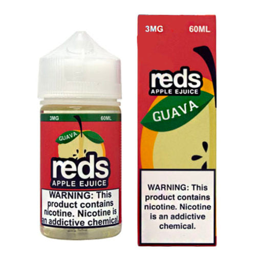 Guava Reds Applle Ejuice 50ml Daze New Flavors collection with 3mg nicotine content for smooth vaping