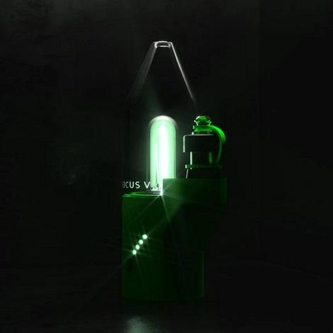Unique Wax Vaporizer Green Neon Laser Light Vaporizers near me onine vape shop best reviews dab rig kit online