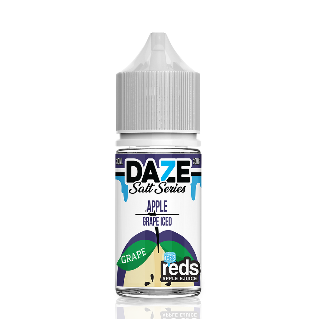 Grape Iced Apple Reds Daze Salt Series near me Best Ejuice Collection 30mg 50mg nic salt based perfect throat hit