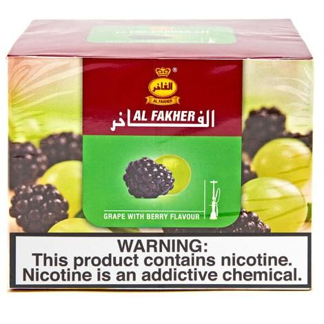 AL Fakher grapes with mint Hookah flavor tobacco high quality shisha flavor near me in low prices