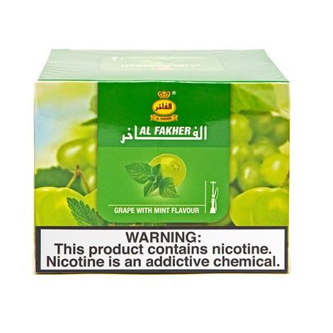 Grape with mint hookah tobacco flavor near me in low prices by Al fakher new tobacco flavors