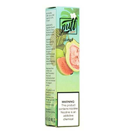 Guava Puff Xtra 1200 puffs 5% nicotine ejuice flavored disposable vape device near me at ash vape smoke shop