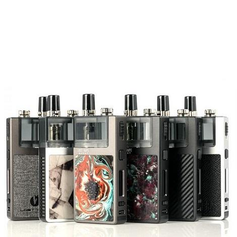 Mixed Colors Orion Vape Devices Lost Vape Quest Q-Ultra 40w high power vape device with multi purpose coils