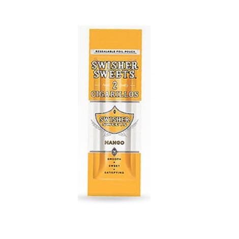 Swisher Sweets Mango Flavor Cigarillos fresh 2 mini cigars per packet reusable cigars for me best reviews cigarillos