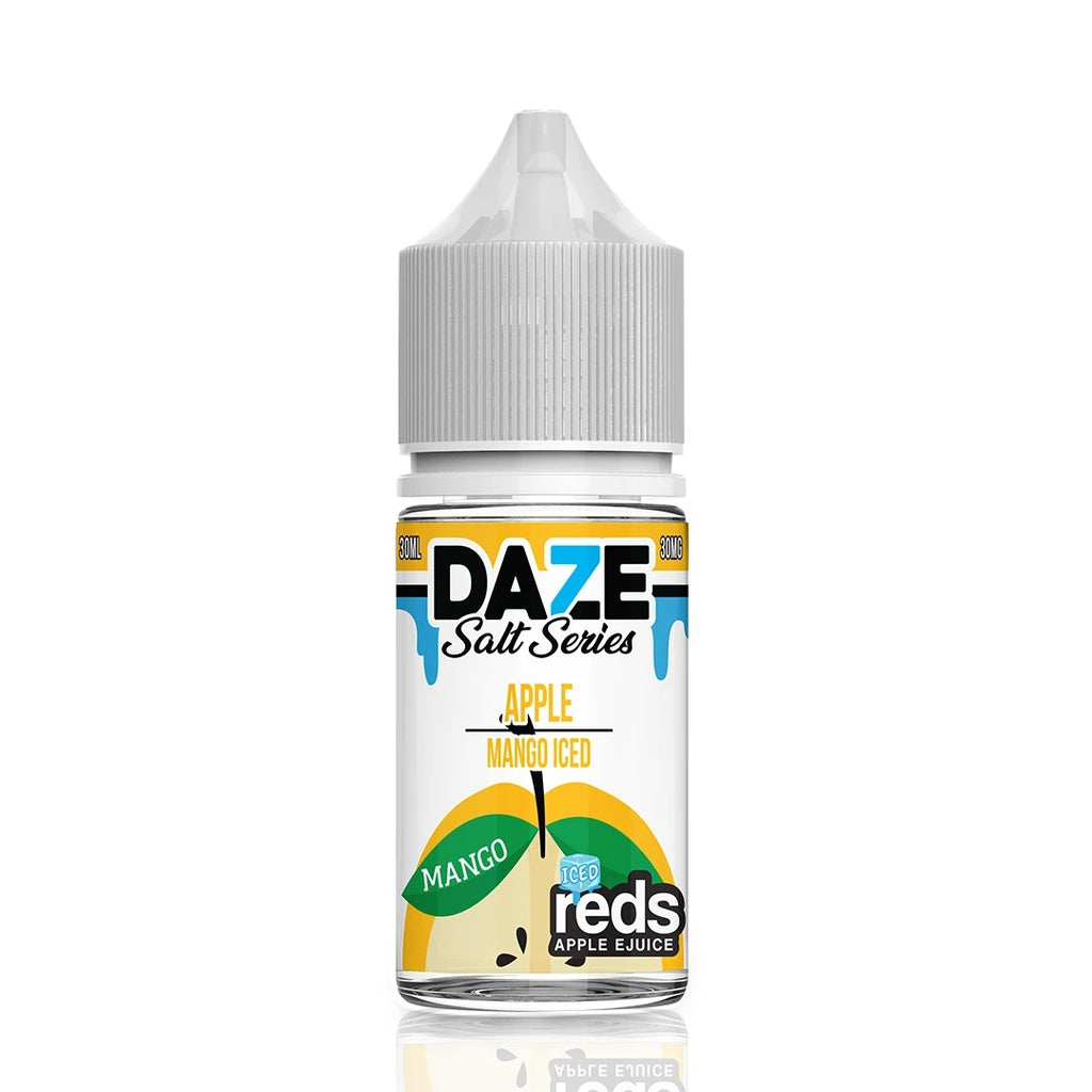 Mango Iced Apple Reds by Daze Salt Series strong nicotine eliquid near me online vape shop taste explosion