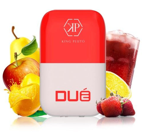 Mango Apple Pear / Strawberry Lemonade Due King Pluto 2 in 1 Dual Flavor Vape Device 4ml 1000 Puffs disposable vape devie