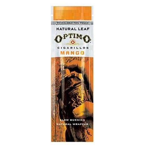 Optimo Mangoo Flavored Cigars 2 per pack cigarillos near  me online tobacco shop best online prices for cigar shops