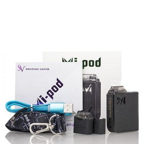 Mi Pods vape starter kit mi pods royal collection black carbon fiber elite design pods New style vape pods