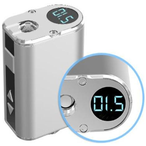 Eleaf Vape Mod Device Digital Display Charging Capcity Vape Voltage Capacity Sleek Design New Mod Kit Near Me