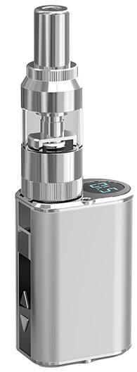 Metal Exterior Eleaf Vape Mod Kit with Compatible Atomizer for Best Vape Hits and Exclusive Design GS16S Clearomizer