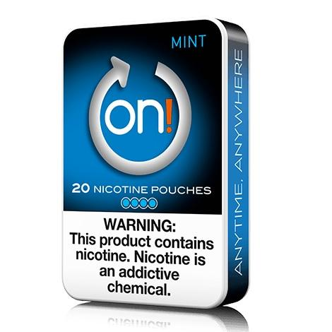 ON Nicotine Pouches 4mg 20 count Mint Flavor Nicotine Swabs for me in best prices near me