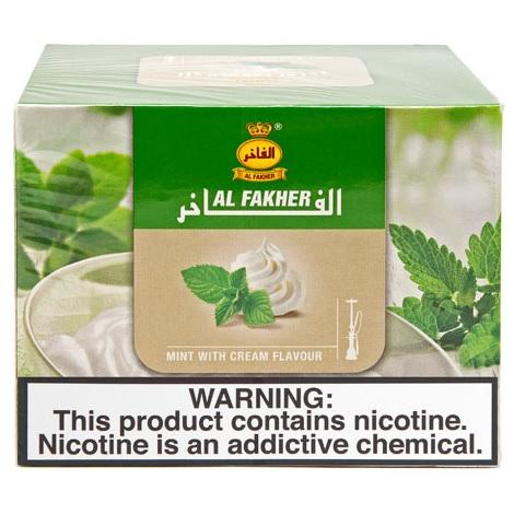 Al Fakher mint with cream flavor tobacco for hookah flavors new collection of AL Fakher hookah flavors