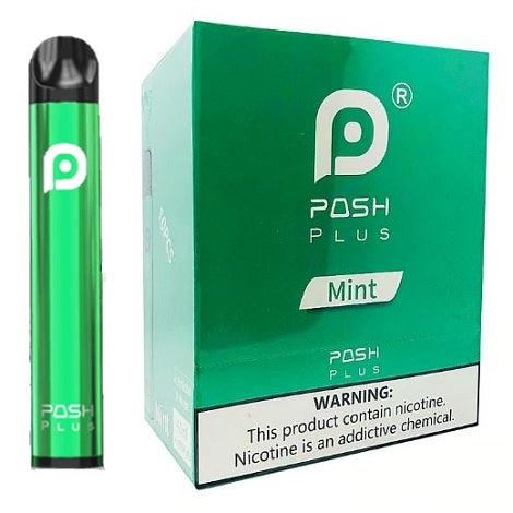 Posh Plus Mint Box 10 pcs per pack new edition refreshing menthol flavor vape near me 4.5ml latest vape device
