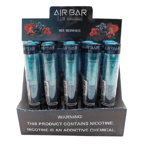 Air Bar Lux Galaxy Edition Mix Berries new disposable vape device new flavors in best price near me online vape shop