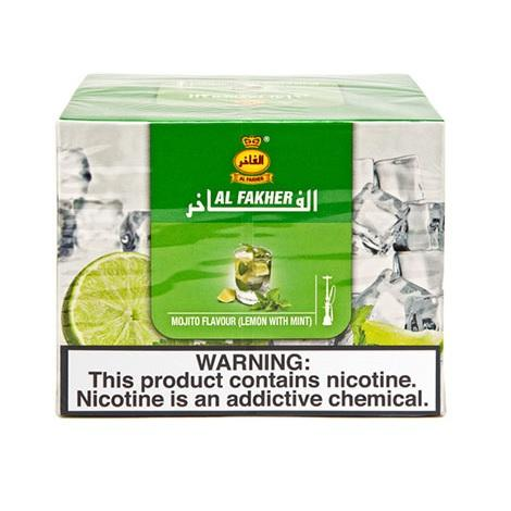 Al Fakher Mojito flavor with lemon and mint in low prices online vape shop best tobacco flavors collection