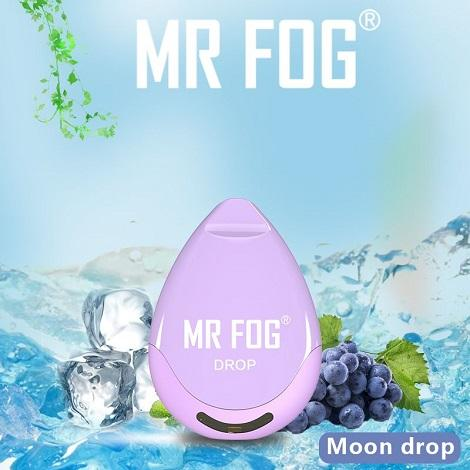 Long lasting mr Fog Drop Disposable vapes moon drop flavor latest vape designs