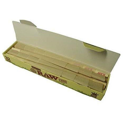 Raw Classic Cones 32 per Pack Pre Rolled Cones ready to use near me online tobacco shop best online prices King Size