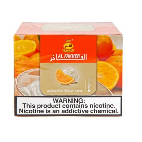 Al Fakher orange with cream hookah flavor new exciting taste for shisha lovers best citrus flavored tobacco