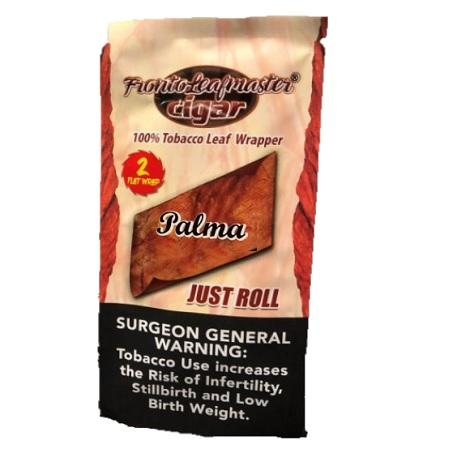 Fronto Leaf Master Palma flavored Just Roll Tobacco Leaf Wraps near me online tobacco shop best online prices