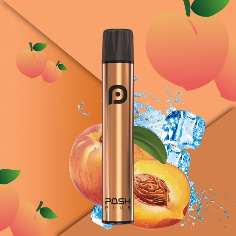 Disposable Vapes by Posh Plus formerly known as  Posh Pls Xl Peach flavor disposable device