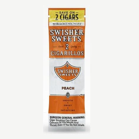 Swisher Sweets Peach Cigarillos Complete collection new mini cigars for puffing near me online toboacco shop